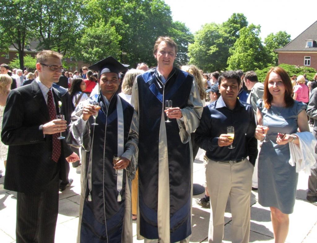Graduation at Jacobs University, Bremen 2011