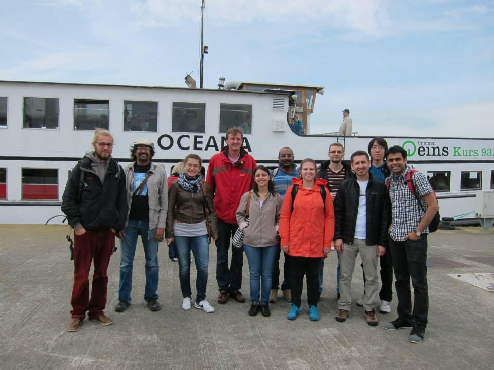 Boat Trip to Bremerhaven, 2014