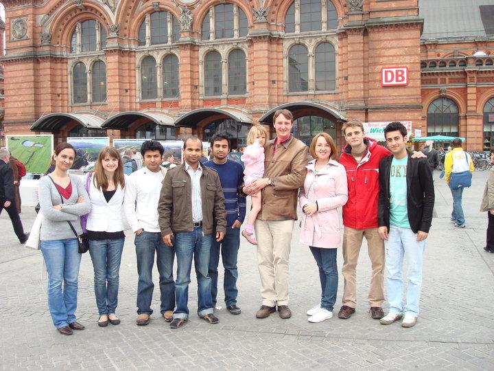 Kuhnert Group at Bremen Hauptbahnhof, Bremen 2009