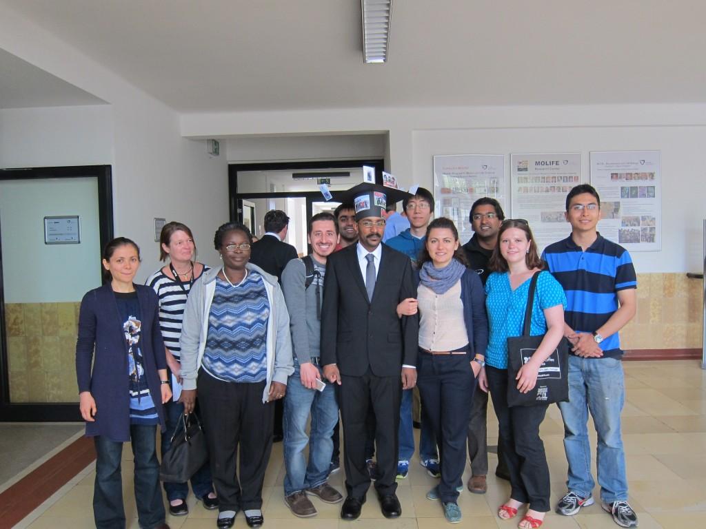 Dr. Mohamed Elsadig with Kuhnert Group