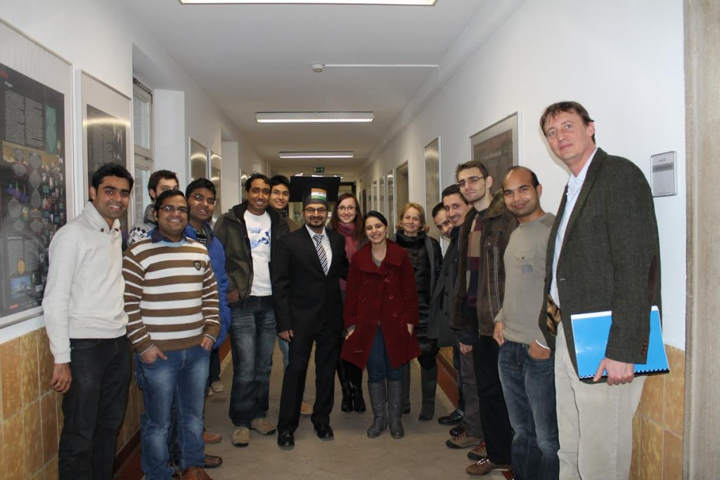 Dr. Sagar Deshpande with Kuhnert Group