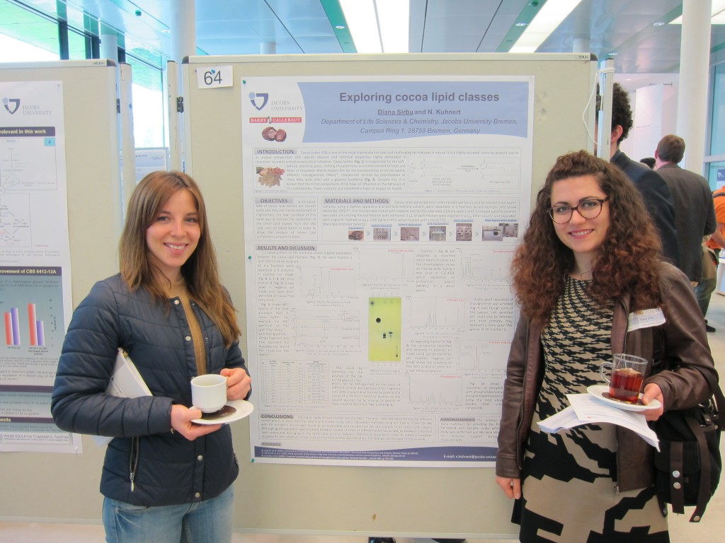 Audrey and Diana, Bremen Life Sciences Meeting 2015