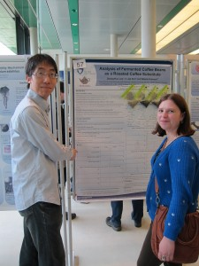 Seung-Hun and Anastasiia, Bremen Life Sciences Meeting 2015