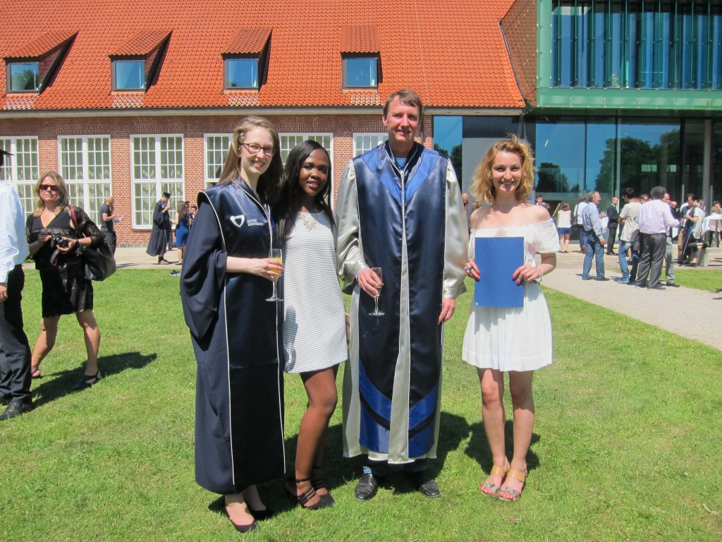 Graduation at Jacobs University, Bremen 2015