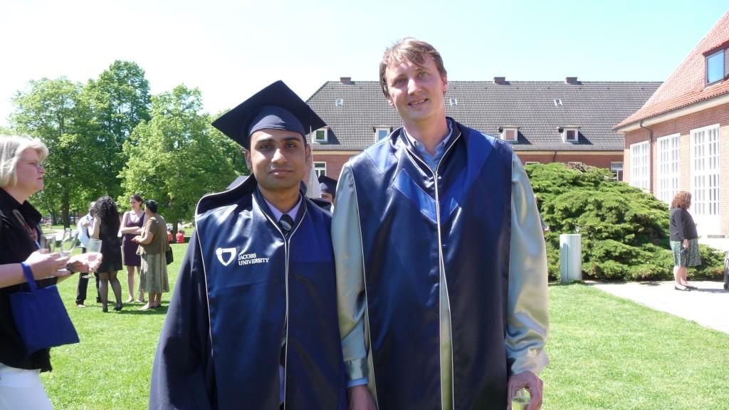 Graduation at Jacobs University, Bremen 2010