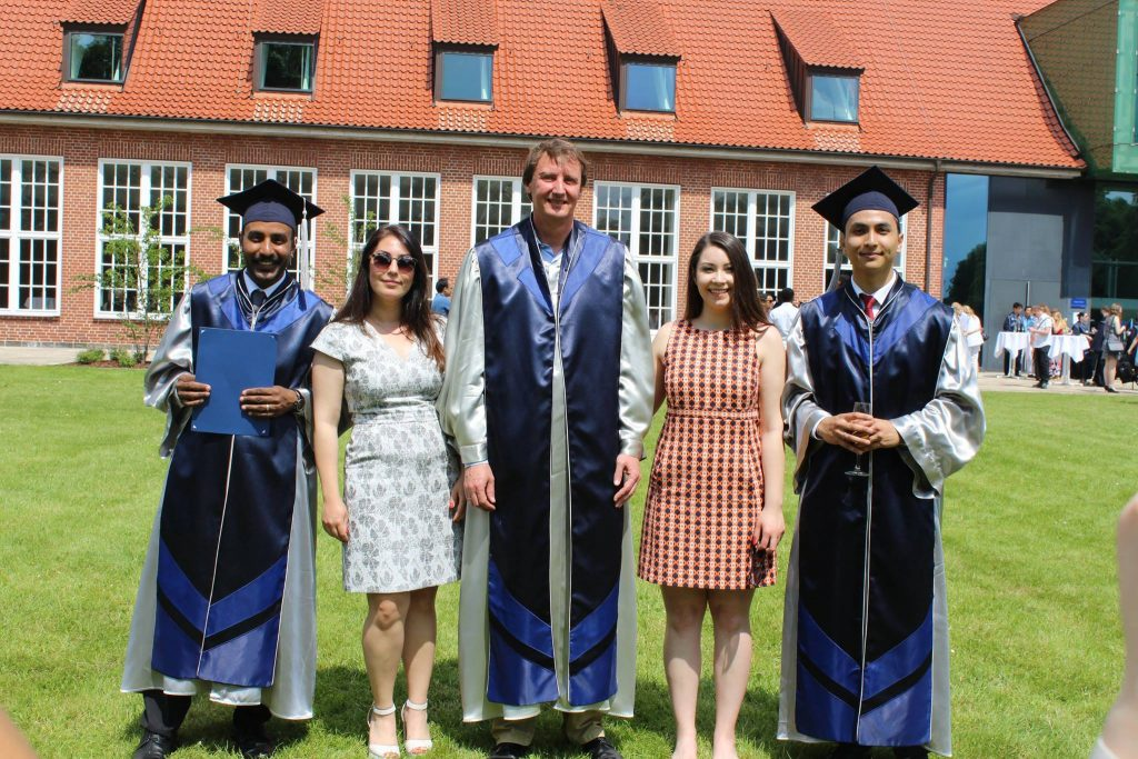 Graduation at Jacobs University, Bremen 2016